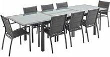 Salon de jardin table extensible - philadelphie