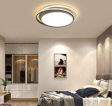 Salon Ronde Géométrique Créative LED Chambre