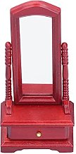 SALUTUY Miroir de Toilette pour Maison de poupée,