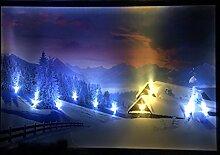 Samarkand-Lights Tableau Mural LED avec éclairage