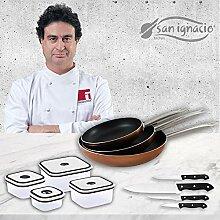 San Ignacio Professional Chef Copper Set de 3