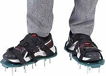 Sandales d'aérateur de pelouse 1 Paire de
