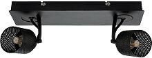 Sandy - Plafonnier métal Double