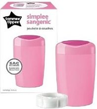 Sangenic bac a couches simplee rose 87008101