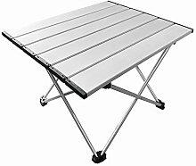 SANGSHI Table pliante portable en aluminium -