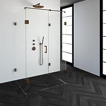 Saniclass Create Cabine de douche XL 90x120cm sans