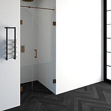 Saniclass Create Porte de douche 87.4x200cm en