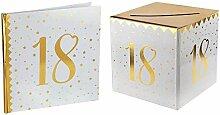 Santex 1 Pack urne et Livre d'or Anniversaire