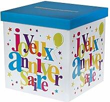 Santex 4761-99 Tirelire Joyeux Anniversaire