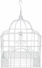 SANTEX 5314-1, Tirelire cage rectangulaire blanche
