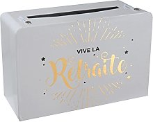 SANTEX 5650-1, Petite Tirelire valise Vive la
