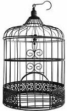 SANTEX Urne Tirelire cage noir