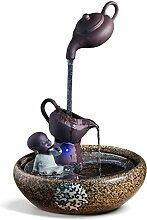 SANYAXIAODONG8 fontaines d'intérieur Créatif
