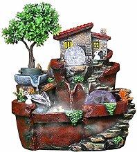 SANYAXIAODONG8 fontaines d'intérieur Résine