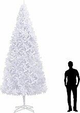 Sapin de Noel artificiel 400 cm Blanc