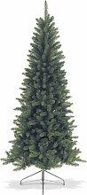 Sapin de noël artificiel de 210cm forme conique