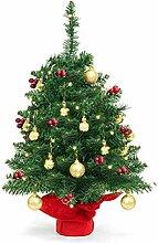 Sapin de Noël artificiel de 55 cm - Sapin vert