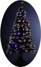 Sapin de Noël Artificiel Lumineux avec Fibre