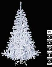 Sapin de noël artificiel luxe blanc 180cm