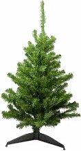 Sapin de Noël artificiel, vert, 120 cm