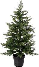 Sapin de Noël avec éclairage, 120 cm