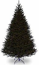 Sapin EDMONTON, noir, 210 cm, Ø140 cm - Faux