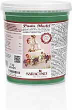 Saracino Pâte à sucre Model vert à modeler de 1