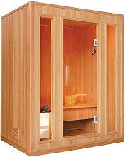 Sauna Traditionnel Finlandais 3/4 places Gamme