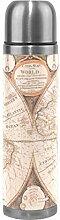 Sawhonn Ancienne Carte du Monde Vintage Bouteille