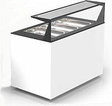 SAYL Module Buffet Froid 3 GN 1/1 avec étagère