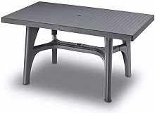 Scab Rudiano sab337 Table tressé, Anthracite
