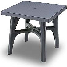 Scab Rudiano sab338 Table tressé, Anthracite