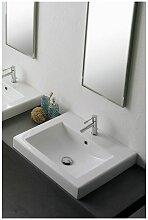 Scarabeo - Square lavabo/vasque 60