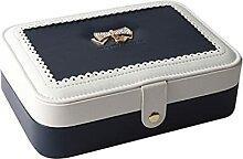 SCDHZP Boîte à bijoux Boîte à bijoux Boîte à