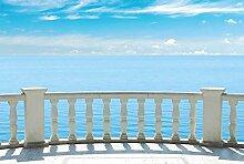 Scenolia Tapisserie Toile Textile Balcon Sur La