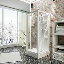 Schulte - Cabine de douche intégrale, verre de