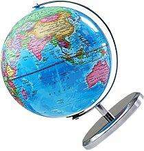 Scicalife Monde Globe avec des Lumières LED