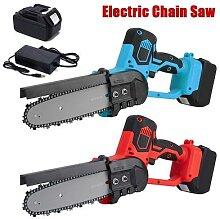 Scie à chaîne électrique, coupe-bois sans fil,