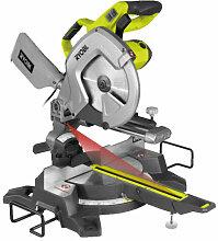 Scie à coupe d'onglets radiale électrique
