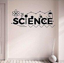 Science stickers muraux décoration de bureau
