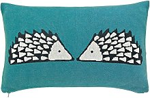 Scion Spike en Tricot Coussin, Coton, Kingfisher,