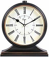 SCOC Horloge de cheminée numérique vintage en