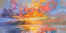 Scott Naismith (Arran Equinox) 50 x 100cm