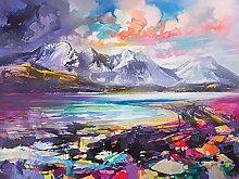 Scott Naismith (Torrin, Skye) 30 x 40cm Impression