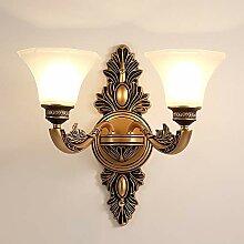 Scra AC Lampe murale en cristal de style européen