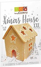 SCRAP COOKING 3915 ScrapCooking Xmas house XXL