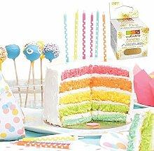 SCRAPCOOKING - Kit Rainbow Cake + Paillettes