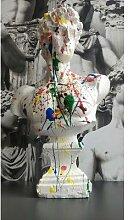 Sculpture buste bibelot, atelier d'art BT de