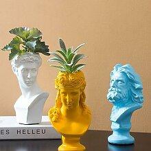 Sculpture en résine créative de style nordique