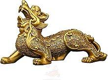 Sculptures LXYZ Brass Feng Shui Pi Yao/Pi Xiu